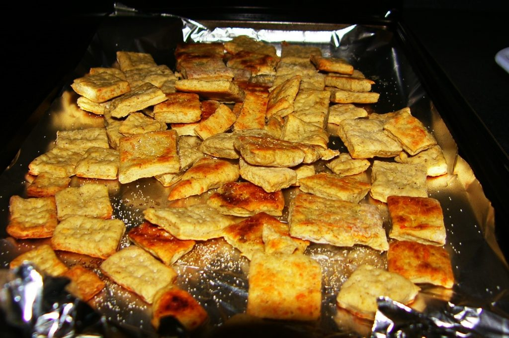Simple homemade crackers