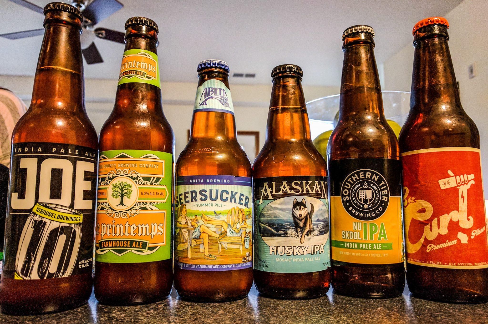 6 beers