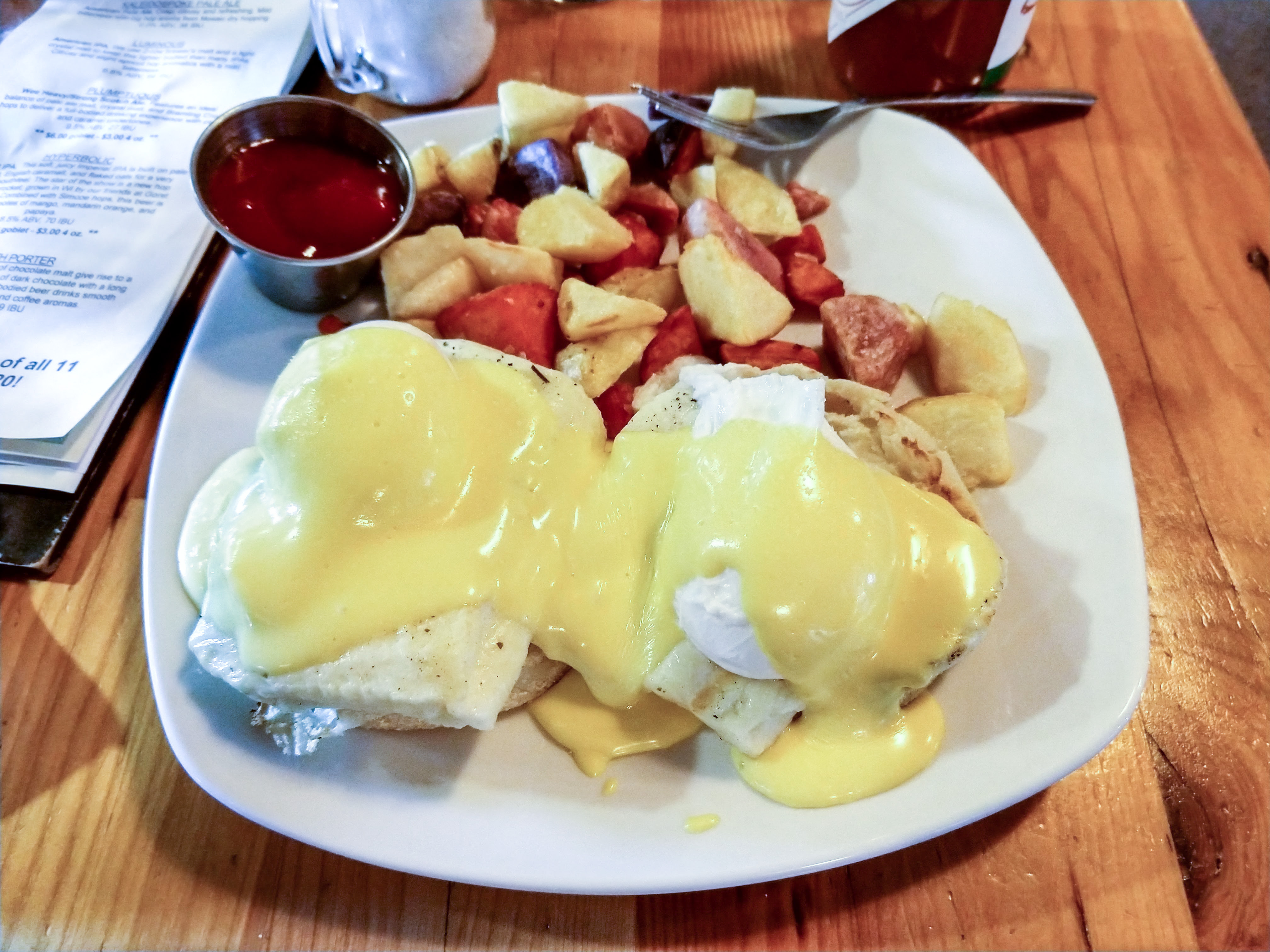 Grilled Cheese Eggs Benedict