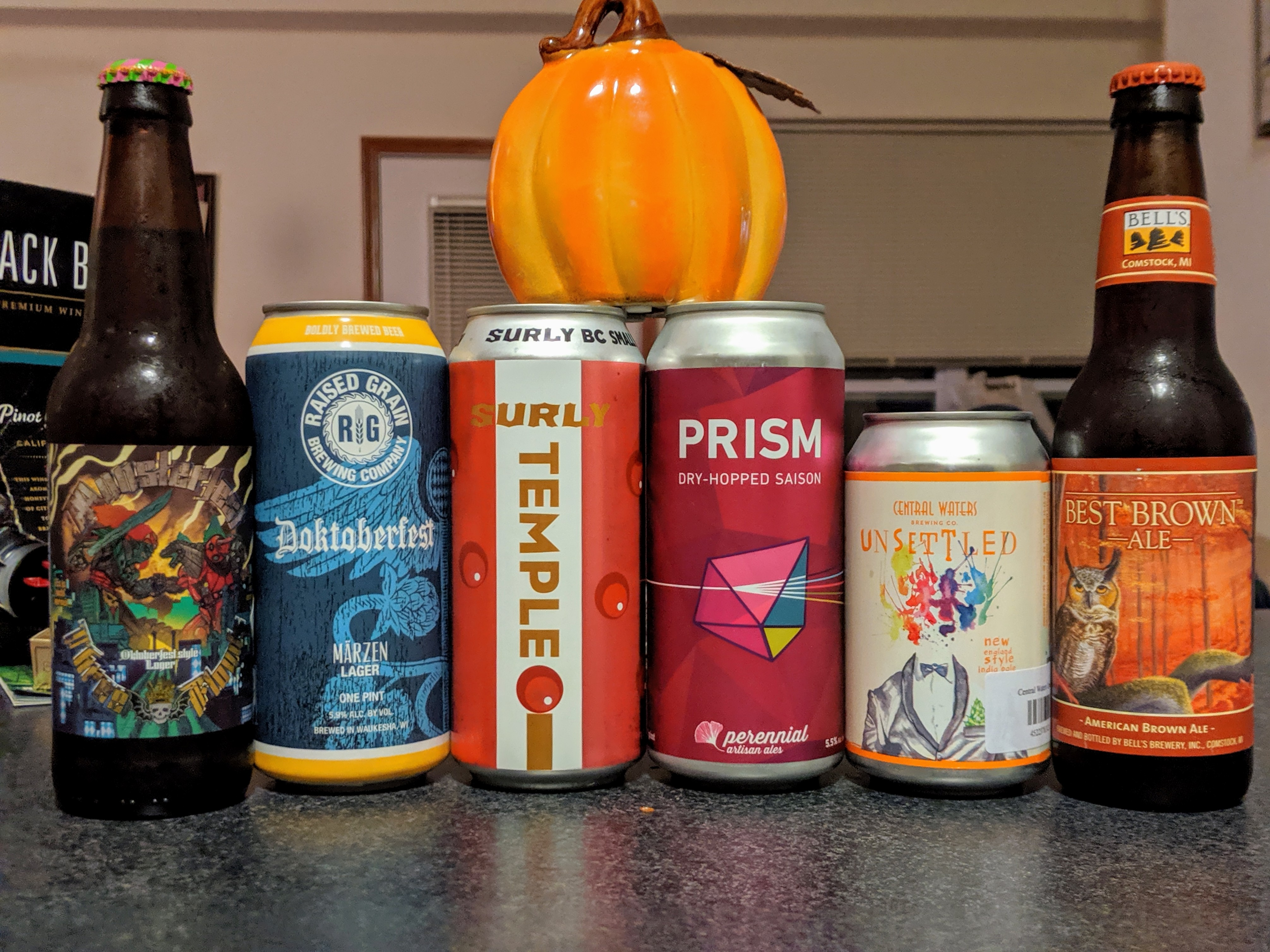 Beer that I'm thankful for.